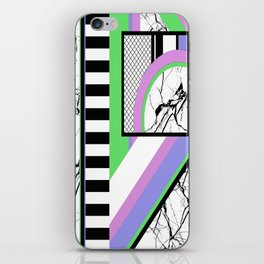 AMPS Deux - Abstract, Marble, Pastel, Stripes iPhone Skin