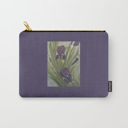 Winter Iris Carry-All Pouch