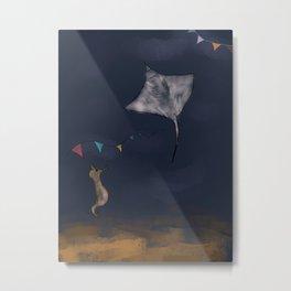 Party in the ocean Metal Print