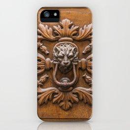 Knock iPhone Case