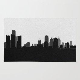 City Skylines: Detroit Rug