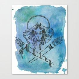 Hekate Canvas Print