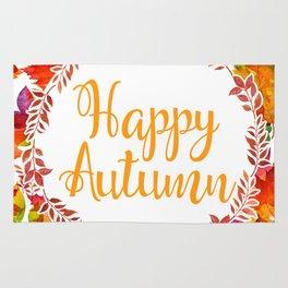 Happy Autumn Rug