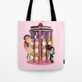 Wreck It Who Tote Bag