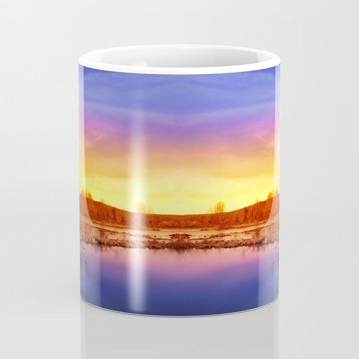 Tranquil Sunset Landscape Coffee Mug