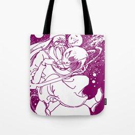 Drawing Moons Tote Bag