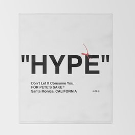 """HYPE"" Throw Blanket"
