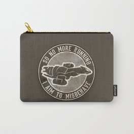 Misbehave Badge V2 Carry-All Pouch