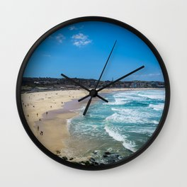 Bondi Beach Wall Clock