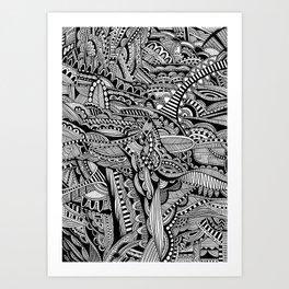 Technical Pen Art Prints | Society6