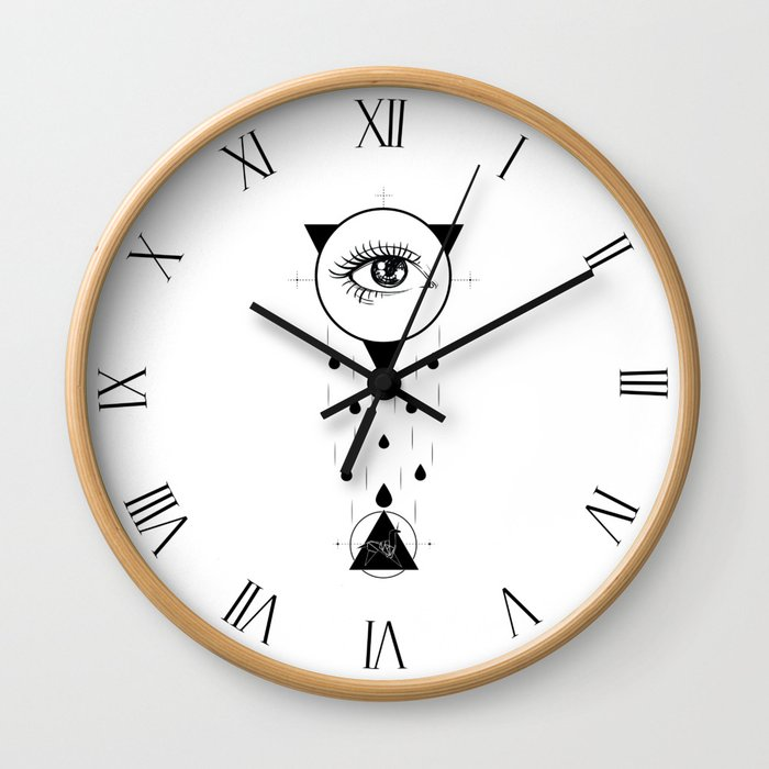 Tears in the Rain Wall Clock