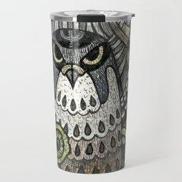 Falcon on clover Travel Mug
