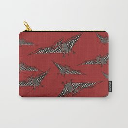Pterosauria red Carry-All Pouch