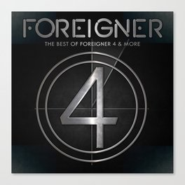foreigner tour 2017 ty1 Canvas Print