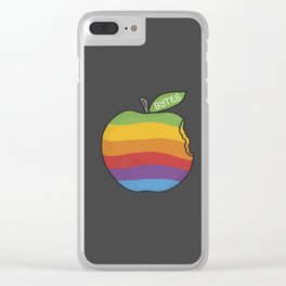 Bytes Clear iPhone Case