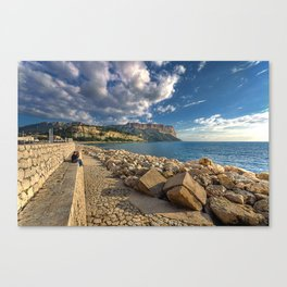 Immensity of Cassis Canvas Print
