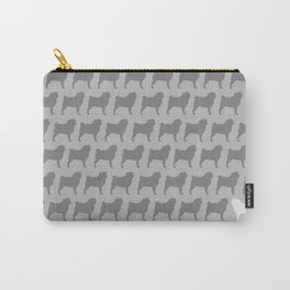 Pug Silhouette(s) Carry-All Pouch