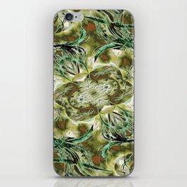 Golden Brances iPhone Skin