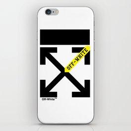 neu off white iPhone Skin