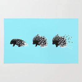 Crested Porcupine Rug