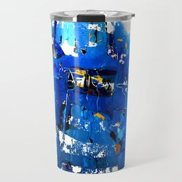 Blue Emotion Travel Mug