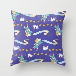 Cuckoo March Throw Pillow