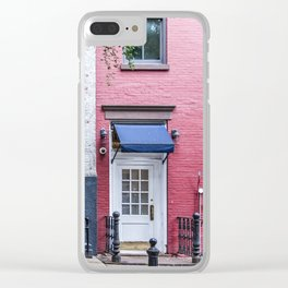 Old Greenwich Village apartment Clear iPhone Case