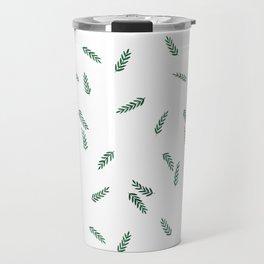 dark green ferns Travel Mug