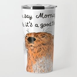 Morning sucks Travel Mug