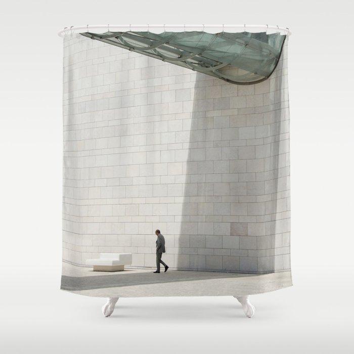 Champalimaud Foundation Gigantism Tube Shower Curtain