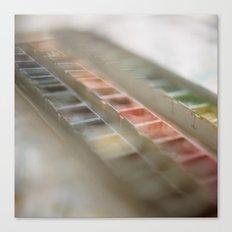 Water Color Paints Canvas Print
