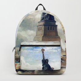 Statue of Liberty Unveiling Backpack