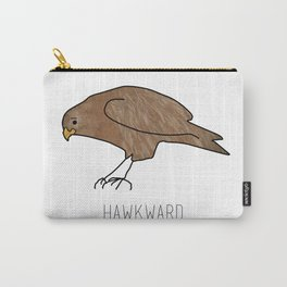 Hawkward Animal Pun Carry-All Pouch