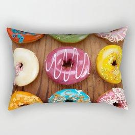 Colorful donuts Rectangular Pillow