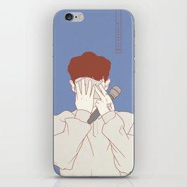 Chanyeol1 iPhone Skin
