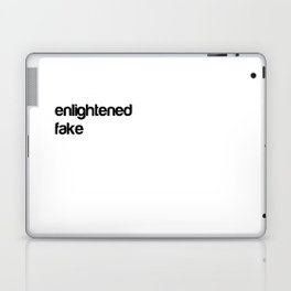 Enlightend Fakes Laptop & iPad Skin
