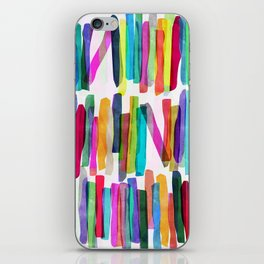 Colorful Stripes 5 iPhone Skin
