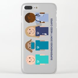 Super Docs Clear iPhone Case