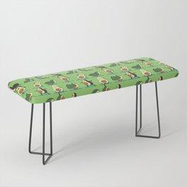 Avocado Yoga Bench