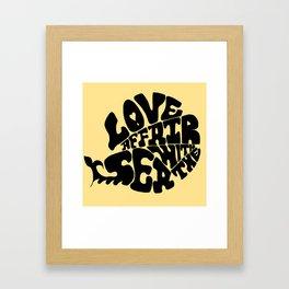 LOVE AFFAIR Framed Art Print