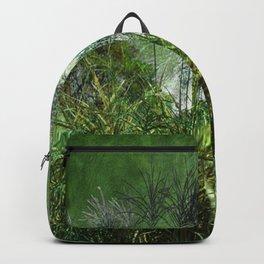 Waters Edge Vintage Green Backpack
