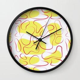 Shaping up Wall Clock