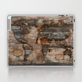 Reclaimed Map Laptop & iPad Skin