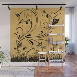 Butterfly Fields Wall Mural