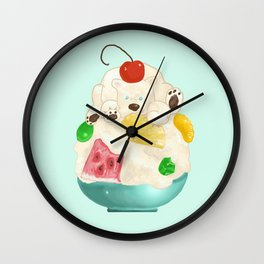 Shirokuma Wall Clock
