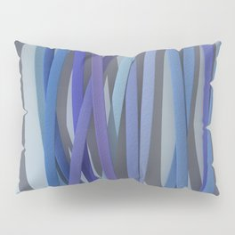 ribbon paper blue Pillow Sham