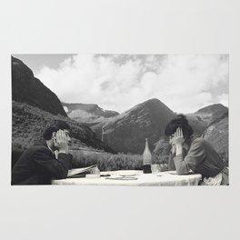 Collage Une femme est une femme - Jean Luc Godard  (1961) Rug