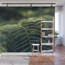 Green and Golden Wall Mural