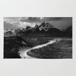 Ansel Adams - The Tetons and Snake River Rug