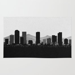 City Skylines: Denver Rug